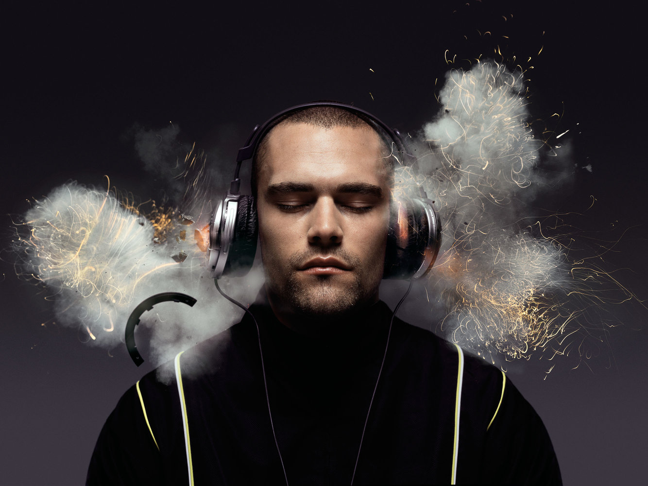 Exploding headphones